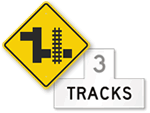 Railroad Warning Signs