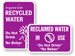 Reclaimed Water