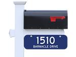 Reflective 911 Address Signs