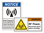 RF Warning Labels