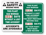 Safe Driver Scoreboards