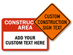 Custom Construction Signs