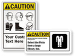 Custom PPE Signs