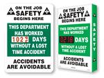 On the Job Safety Scoreboards