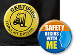Safety Buttons | Safety Slogan Buttons