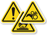 Safety Symbol Labels