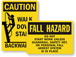 Scaffold & Ladder Safety Signs
