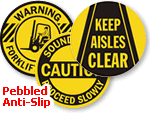 GripGuard Adhesive Floor Safety Signs