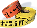Social Distancing Barricade Tapes