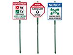 Social Distancing LawnBoss Signs