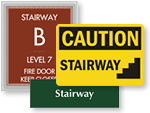 Stairway Signs