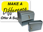 Suggestion Boxes & Signs