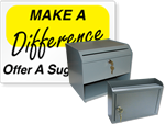 Suggestion Boxes and Suggestion Box Signs