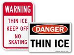 Thin Ice Keep Off
