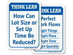 Think Lean Signs