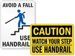 Handrail Signs