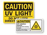 UV Light Warnings