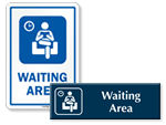 Waiting Area Signs