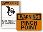 Warning Safety Signs