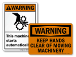 Machine Warning Signs