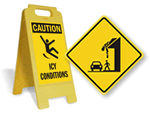 Icy Warning Signs