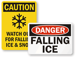 Watch Out for Ice Signs