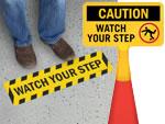 Watch Your Step Stencils