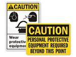 Wear PPE Signs