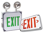 Wet Location Exit Signs