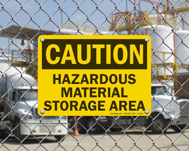 Hazardous Material Signs - MySafetySign.com