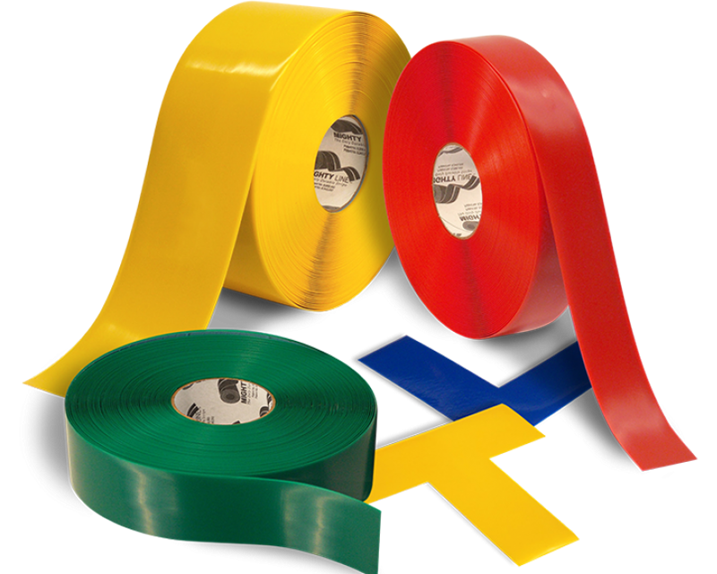4e9d804a71d Floor Marking Tape | Mighty Line Floor Signs