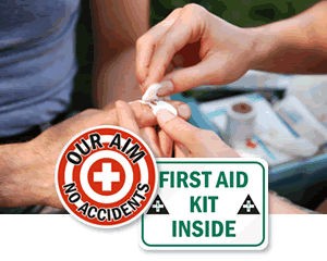 All First Aid Signs