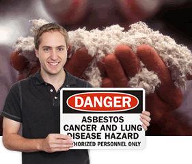 Asbestos Warning Signs | Public Health Sign
