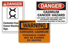 Cadmium Signs