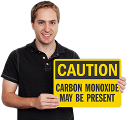 Carbon Monoxide Safety Signs