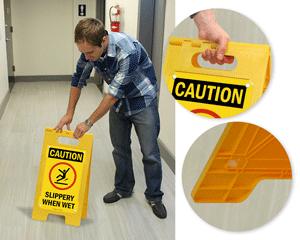 Caution Floor Signs