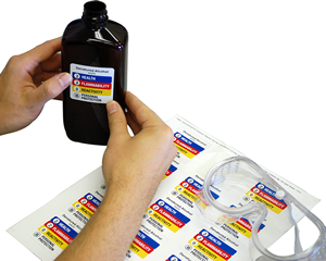 Chemical Safety Signs, Labels & Tags