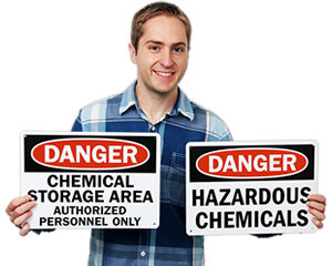 Chemical Danger Signs