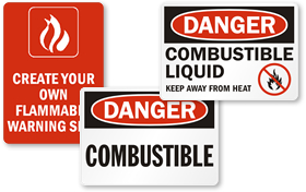 Combustible Liquid and Dust