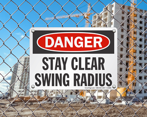 Crane Signs - Hoist Safety Sign