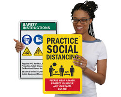 Custom Safety Sign Templates