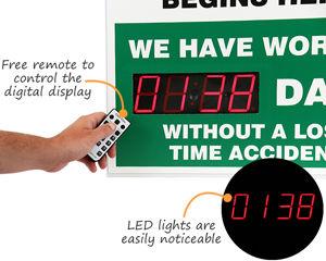 Digital safety scoreboard