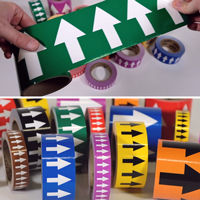 Directional Flow Arrow Tapes
