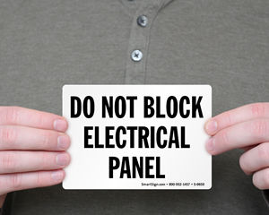 Electrical Panel Sign