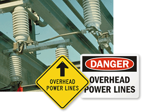 Electrical Utility Warning Signs