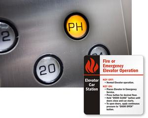 Elevator Car Station