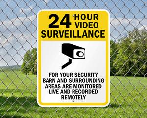 Farm Surveillance Signs