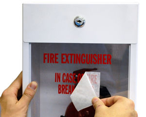 Fire Extinguisher Stickers