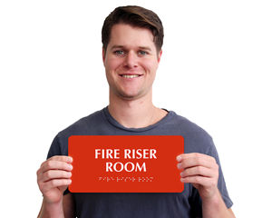 Fire Riser Room Signs