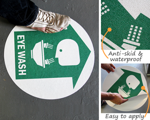 First Aid Floor Signs